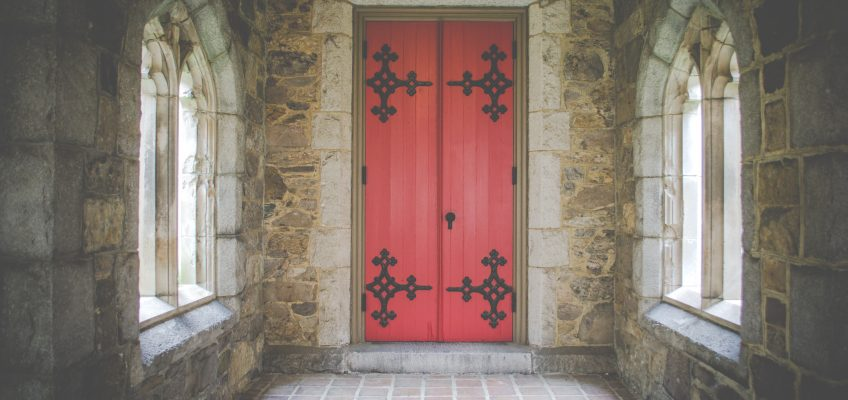 Doorways, litanies, and other thin places of the liturgy