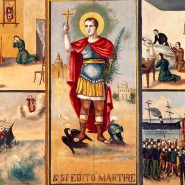 Saint Expeditus – A Saint for Procrastinators