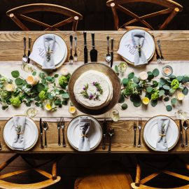 From altar to table: Christ present there