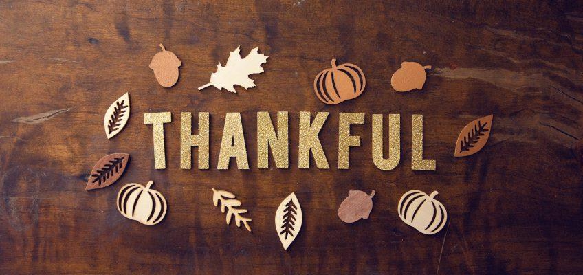 Giving thanks through prayer