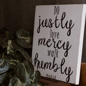 Mercy is the face of Christ