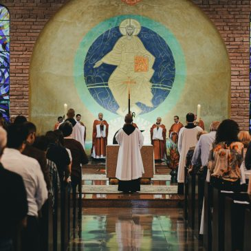 The purpose of the parts of the Mass we sing