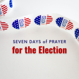 Prayers for the upcoming election