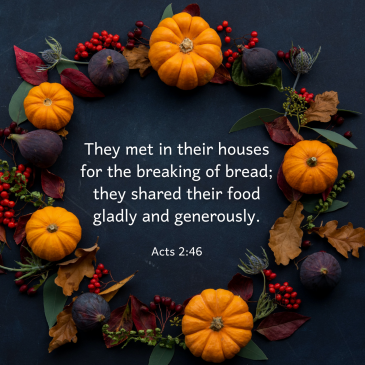 A Thanksgiving Prayer in Time of Pandemic